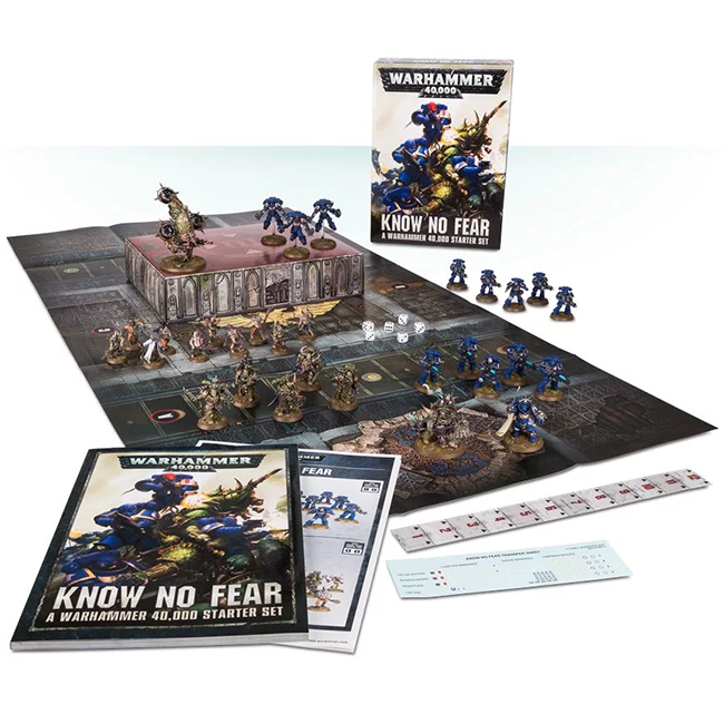 Know No Fear: A Warhammer 40000 Starter Set