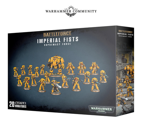 Battleforce Imperial Fists Supremacy Force