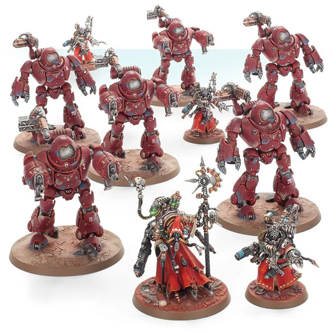 Adeptus Mechanicus Vanguard Detachment